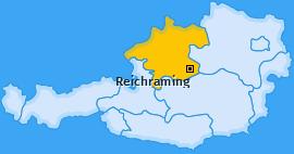 Karte von Reichraming