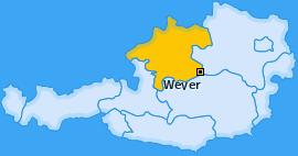 Karte von Weyer