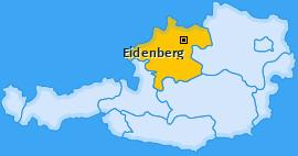 Karte von Eidenberg