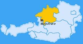 Karte von Mondsee