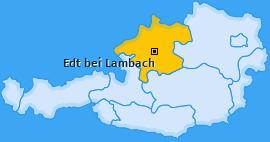 Karte von Edt bei Lambach