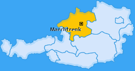Karte Niederperwend Marchtrenk