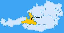 Karte von Abtenau