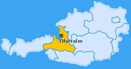 Karte von Oberalm