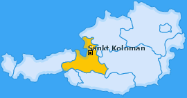 Karte von Sankt Koloman