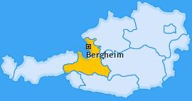Karte Bergheim Bergheim