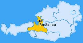 Karte von Faistenau