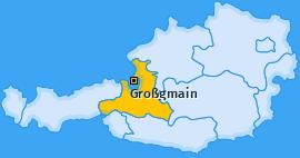 Karte von Großgmain