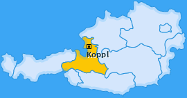 Karte von Koppl