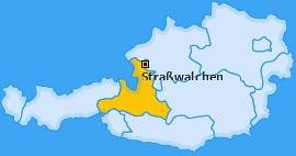 Karte von Straßwalchen