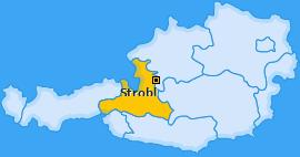 Karte von Strobl