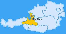 Karte von Thalgau