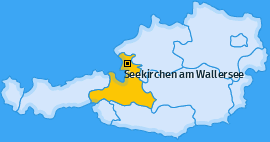 Karte Kothgumprechting Seekirchen am Wallersee