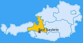 Karte von Bad Gastein
