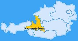 Karte von Ramingstein