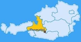 Karte von Thomatal