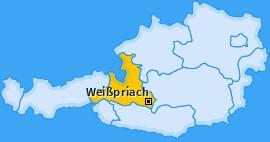 Karte von Weißpriach
