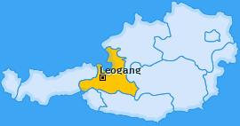 Karte von Leogang