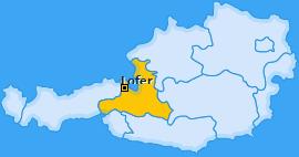 Karte von Lofer