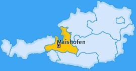 Karte von Maishofen