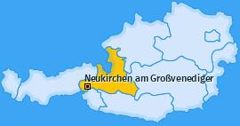 Karte von Neukirchen am Großvenediger