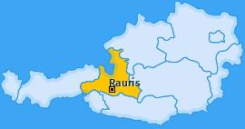 Karte von Rauris