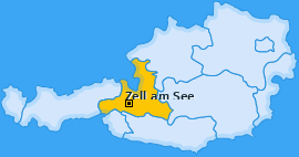 Karte Zell am See Zell am See