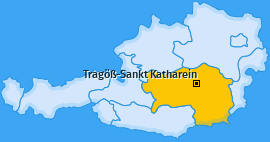 Karte von Tragöß-Sankt Katharein