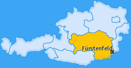 Karte Übersbach Fürstenfeld