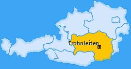 Karte Laufnitzgraben Frohnleiten