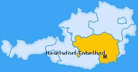 Karte von Haselsdorf-Tobelbad