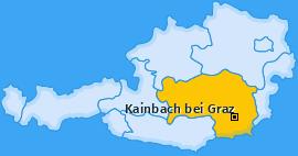 Karte von Kainbach bei Graz