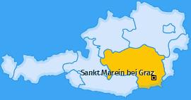 Karte von Sankt Marein bei Graz