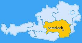 Karte von Semriach