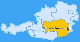 Karte von Bad Waltersdorf