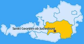 Karte von Sankt Georgen ob Judenburg