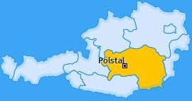 Karte von Pölstal