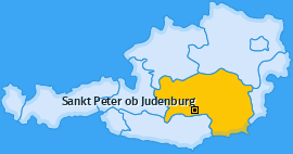 Karte von Sankt Peter ob Judenburg