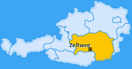 Karte von Zeltweg