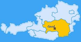 Karte von Gaal