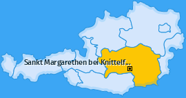 Karte Kroisbach Sankt Margarethen bei Knittelfeld