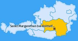 Karte Gobernitz Sankt Margarethen bei Knittelfeld
