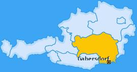 Karte von Gabersdorf