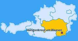 Karte von Heiligenkreuz am Waasen