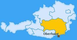 Karte von Oberhaag