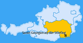Karte von Sankt Georgen an der Stiefing
