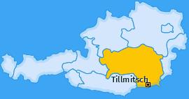 Karte von Tillmitsch