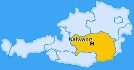 Karte von Kalwang