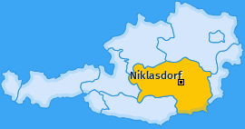 Karte von Niklasdorf
