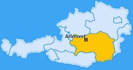 Karte von Admont